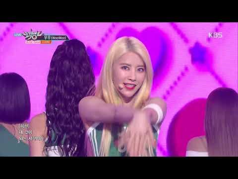 뮤직뱅크 Music Bank -우우(WooWoo) - 다이아(DIA).20180824