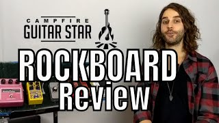 Rockboard Review | Warwick RockBoard Pedalboard Review