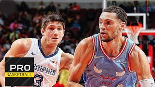 Memphis Grizzlies vs Chicago Bulls | Dec. 4, 2019 | 2019-20 NBA Season | Обзор матча