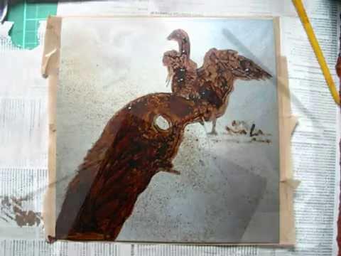 Kijk mee ets met aquatint Nicole Henderiks How do I create an etching?