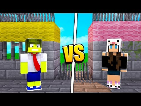 PRISÃO DO RAZOR vs PRISÃO DA COELHA NO MINECRAFT !!