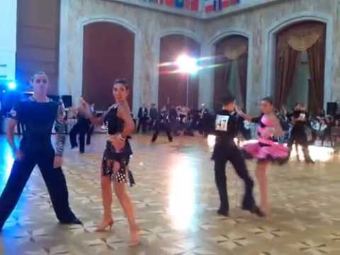 Gore Andrei-Victoria Corcodel Youth Open Latin 1\8 Jive