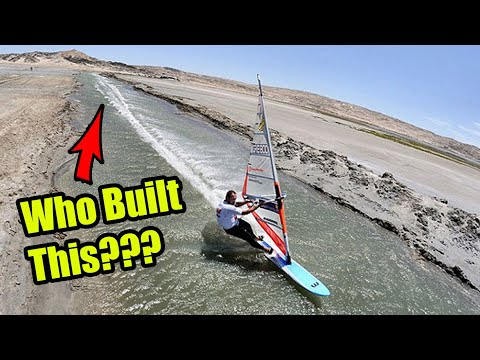 Who Built this CRAZY Speed Canal? - Luderitz Speed Challenge  - #TBT