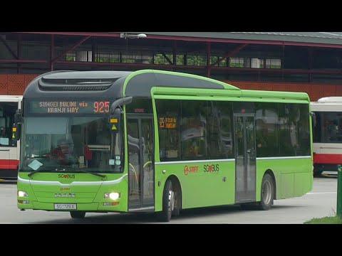 SMRT Bus Service 925#, SG1727T (Full Trip)