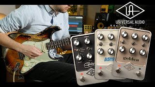 Universal Audio's highly anticipated UAFX pedals! Full Demo