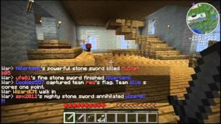 Minecraft: War Capture The Flag