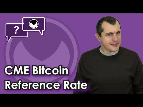 Bitcoin Q&A: CME Bitcoin Reference Rate
