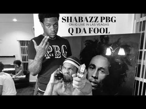 Shabazz PBG & Q Da Fool In Las Vegas (IG LIVE)