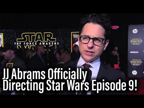 JJ Abrams Is Directing Star Wars Episode 9