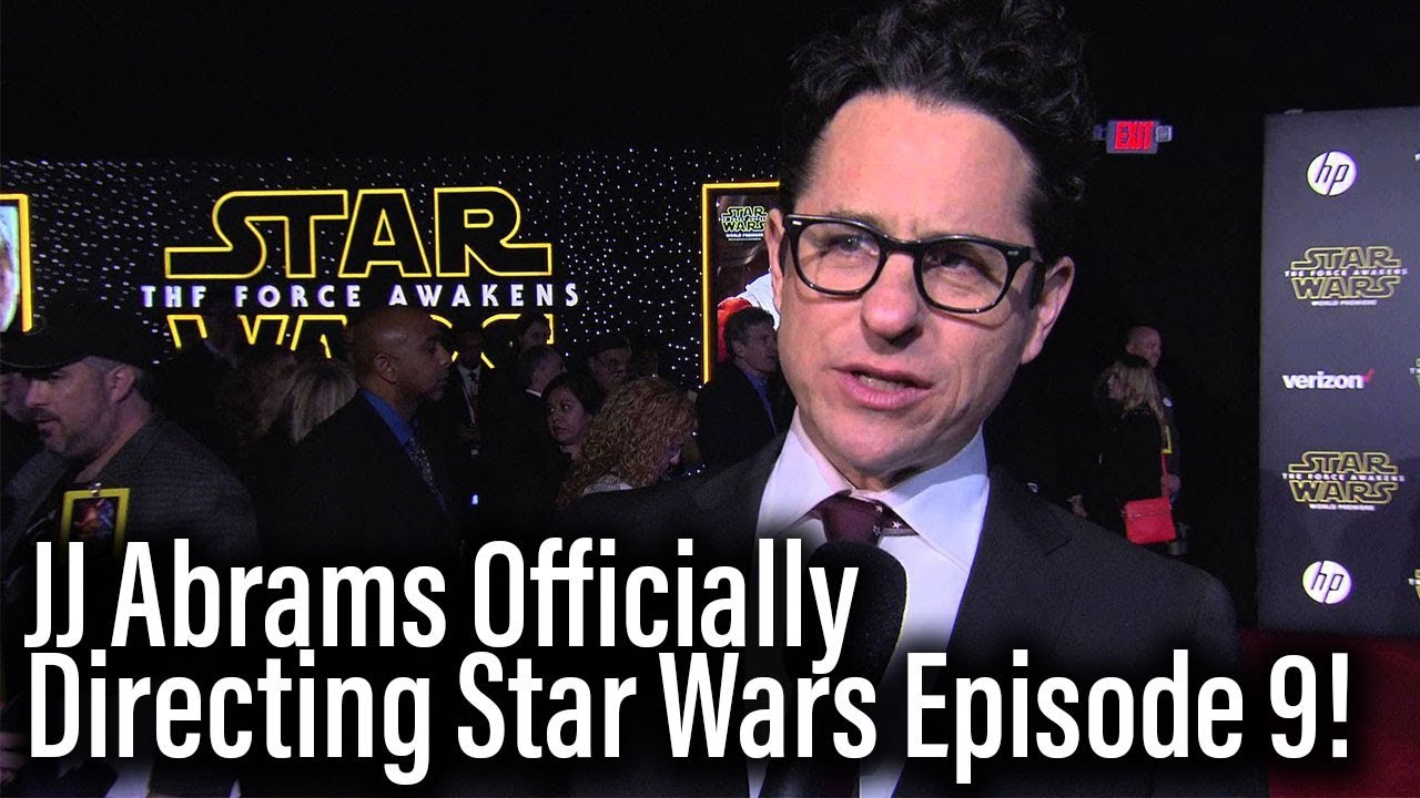 JJ Abrams Is Directing Star Wars Episode 9 – Chris Terrio Co-Writing With Him