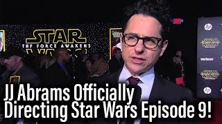 JJ Abrams Is Directing Star Wars Episode 9 - Chris Terrio Co-Writing With Him