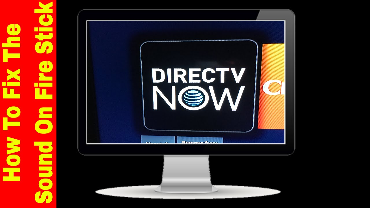 How To Fix DIRECTV NOW's Audio Problem On Amazon Fire TV Stick!🤓👏