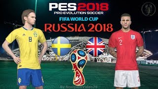 Svezia Vs Inghilterra - World CUP 2018 Quarti di Finale