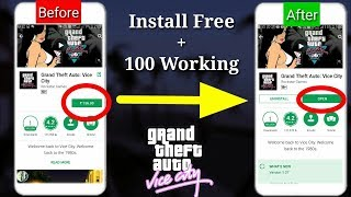 (2018 New) How To Download Gta Vice City free in Android  play