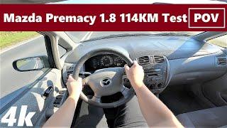 Mazda Premacy 1.8 114km (2001) POV Drive Test & Acceleration   Japan Technology   4K #70