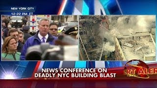 NYC Mayor: Gas Leak Reported Minutes Before Building Explosion