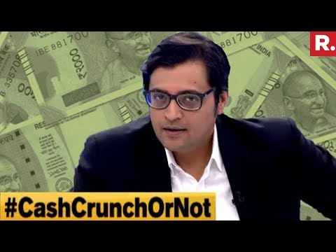 Cash Crunch A Reality Or Hype? | The Debate With Arnab Goswami