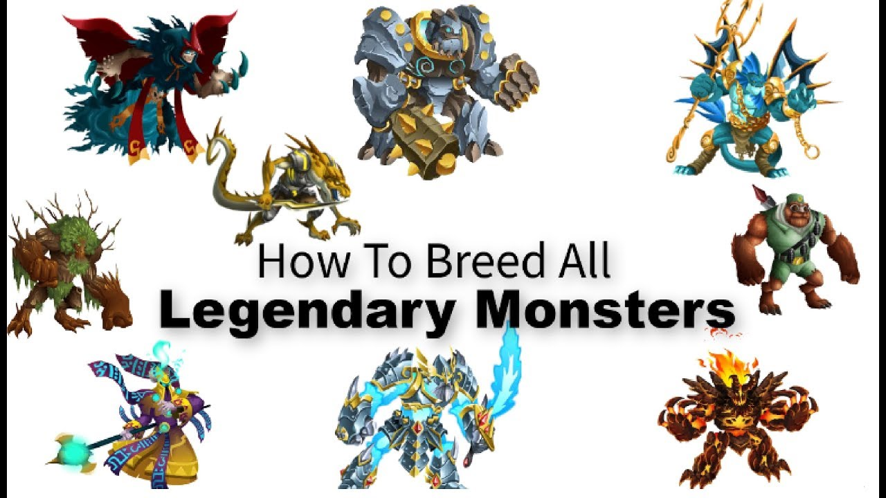 How to Breed Legendary Monsters in Monster Legends ( 2019) Get Legendary  Monster By Breeding