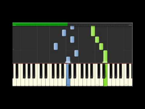 Piano Synthesia Falling Slowly Slow 70%