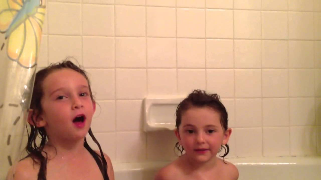 Girls Singing In The Tub Youtube