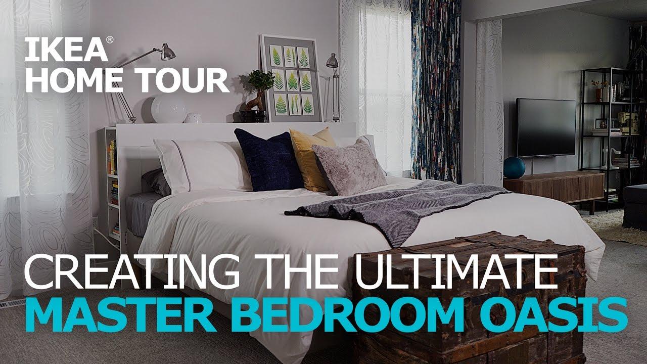 Master Bedroom Ideas  IKEA Home Tour Episode 301  YouTube