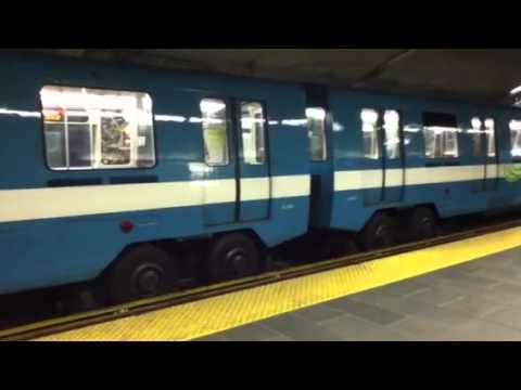 Montreal Metro Station De La Concorde