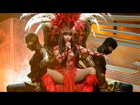 "Nicki Minaj ""Trini Dem Girls"" & 'Bad Blood"" Performance With Taylor Swift 2015 MTV VMA's"