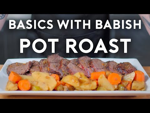 How long to make pot roast in oven
