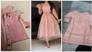 Gorgeous Pink & Peach Dresses Collection