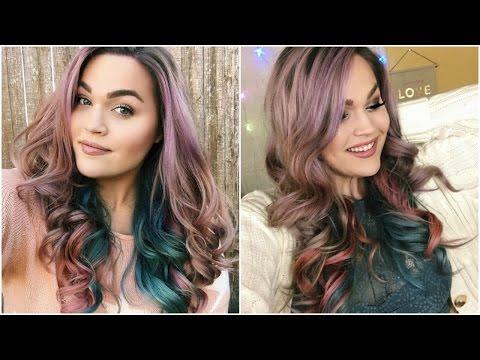 Pastel Galaxy Hair DIY + Hair Salon HORROR Storytime