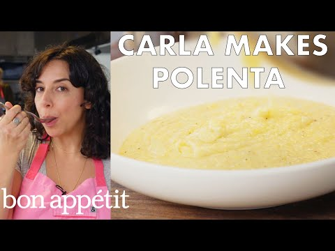 Instant Pot Essentials: Carla Makes Polenta Cacio e Pepe | From the Test Kitchen | Bon Appétit