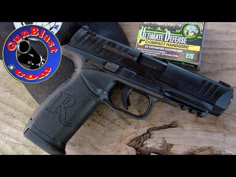 Shooting the Remington RP9 Striker-Fired Polymer Semi-Automatic Pistol - Gunblast.com