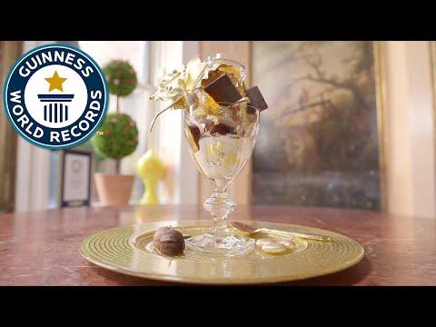How to make a $1000 dessert - Guinness World Records