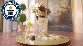 How to make a $1000 dessert - Guinness World Records