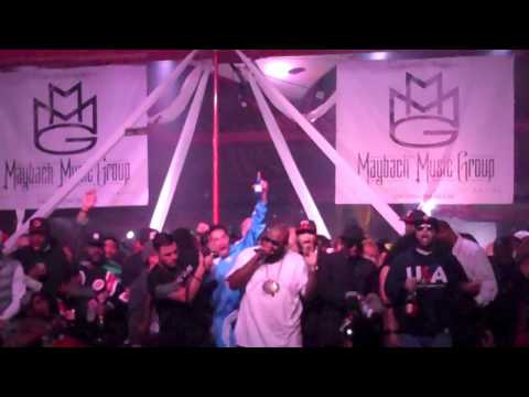 Rick Ross Birthday Bash 2011 @ King of Diamonds in Miami, FL