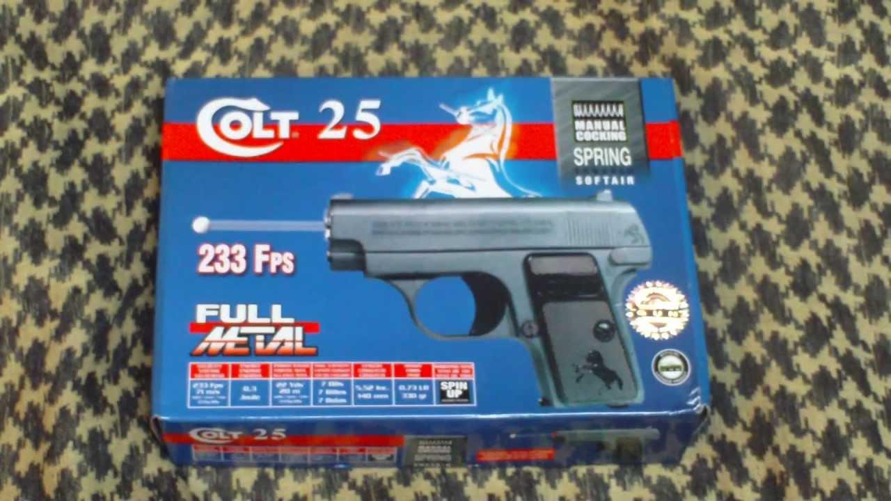 Colt 25 Humiliator Deballage Et Presentation Airsoft Youtube