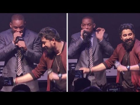 Will Smith's Amazing BEATBOXING LIVE On Indian Punjabi Dhol, Bhangra Tune