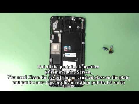 How to open or repair Samsung Galaxy Mega 2,G750a,LCD,Charging port etc..