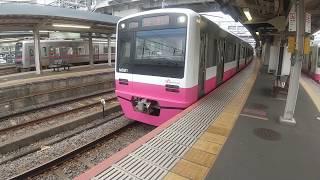 新京成電鉄N800形千葉中央行き京成津田沼駅発車、