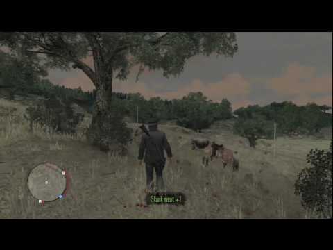 Red Dead Redemption - Skunk Hunting Locations And Tips In *HD* (With Audio)