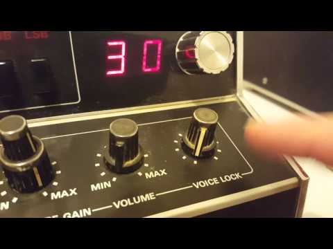 Cobra 135xlr CB video for ebay buyer(thanks)