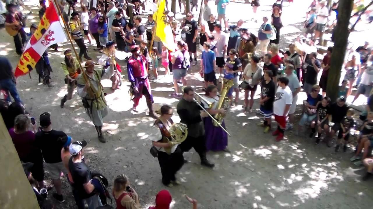 pittsburgh renaissance festival 2015 parade youtube