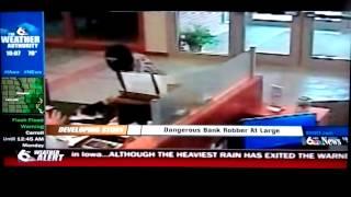 WOWT Channel 6 News Report on AK-47 Bandit Bank Robbery in Nebraska City