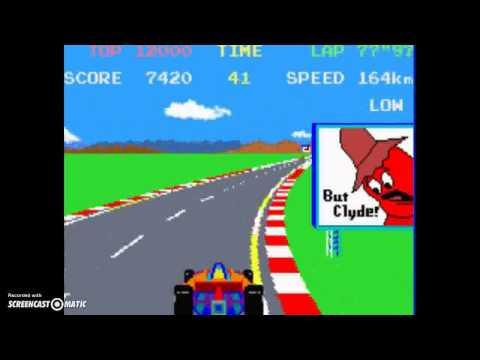 Namco Museum GBA Emulator Gameplay (Pole Position & Ms  Pac Man)