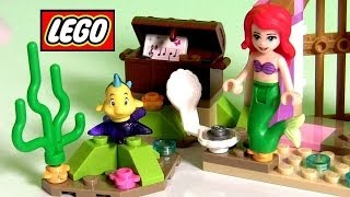 Lego Ariel Amazing Treasures 41050 Disney Princess The Little Mermaid & Flounder Bath Building Toys