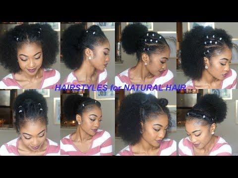 more-quick-&-easy-hairstyles-for-short/medium/long-natural-hair-|-part-3-|-disisreyrey
