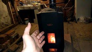 видео Чугунные печи для дачи дровяные длительного горения