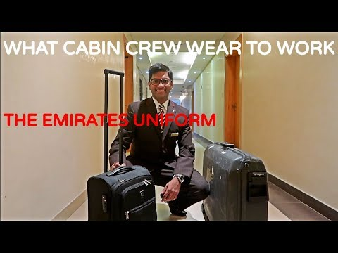 Emirates Cabin Crew: Wearing the Emirates Cabin Crew Uniform