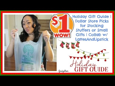 Holiday Gift Guide | Dollar Tree Finds for Stocking Stuffers & Gifts COLLAB