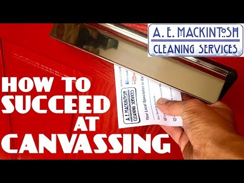 How To Suceed At Canvassing